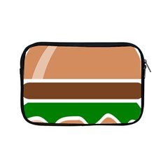 Hamburger Fast Food A Sandwich Apple Ipad Mini Zipper Cases by Nexatart