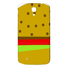 Hamburger Food Fast Food Burger Samsung Galaxy Mega I9200 Hardshell Back Case by Nexatart