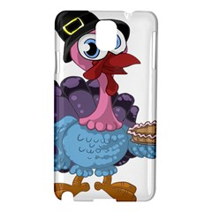 Turkey Animal Pie Tongue Feathers Samsung Galaxy Note 3 N9005 Hardshell Case by Nexatart
