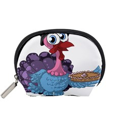 Turkey Animal Pie Tongue Feathers Accessory Pouches (small)