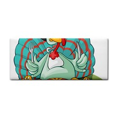 Pie Turkey Eating Fork Knife Hat Cosmetic Storage Cases by Nexatart