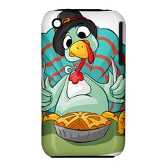 Pie Turkey Eating Fork Knife Hat Iphone 3s/3gs