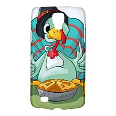 Pie Turkey Eating Fork Knife Hat Galaxy S4 Active by Nexatart