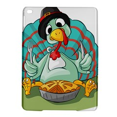 Pie Turkey Eating Fork Knife Hat Ipad Air 2 Hardshell Cases by Nexatart