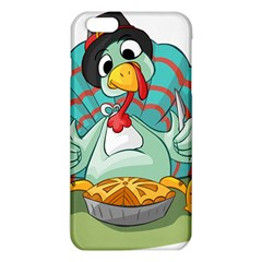 Pie Turkey Eating Fork Knife Hat Iphone 6 Plus/6s Plus Tpu Case by Nexatart