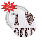 Love Heart Romance Passion 2.25  Buttons (100 pack)  Front