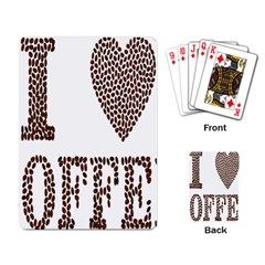 Love Heart Romance Passion Playing Card by Nexatart