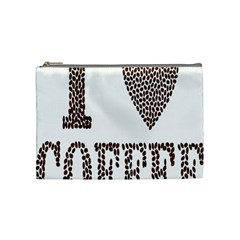Love Heart Romance Passion Cosmetic Bag (medium)  by Nexatart