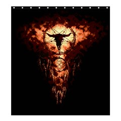 Dreamcatcher Shower Curtain 66  X 72  (large)  by RespawnLARPer