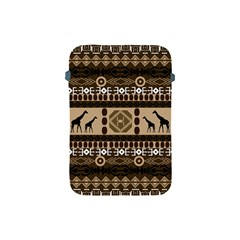 Giraffe African Vector Pattern Apple Ipad Mini Protective Soft Cases by BangZart