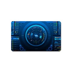Technology Dashboard Magnet (name Card) by BangZart