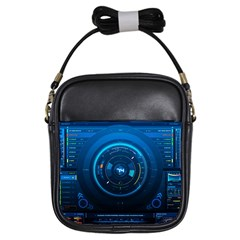 Technology Dashboard Girls Sling Bags