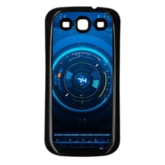 Technology Dashboard Samsung Galaxy S3 Back Case (black) by BangZart