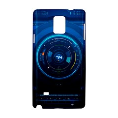 Technology Dashboard Samsung Galaxy Note 4 Hardshell Case by BangZart