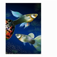 Marine Fishes Small Garden Flag (two Sides) by BangZart