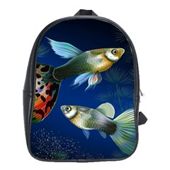 Marine Fishes School Bags (xl)  by BangZart