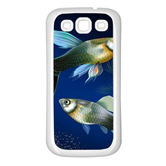 Marine Fishes Samsung Galaxy S3 Back Case (white)