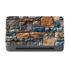 Brick Wall Pattern Memory Card Reader With Cf by BangZart