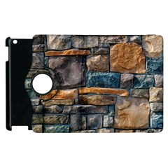 Brick Wall Pattern Apple Ipad 2 Flip 360 Case