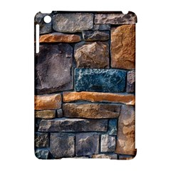 Brick Wall Pattern Apple Ipad Mini Hardshell Case (compatible With Smart Cover)
