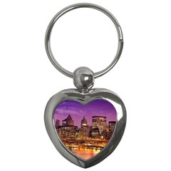 City Night Key Chains (heart)