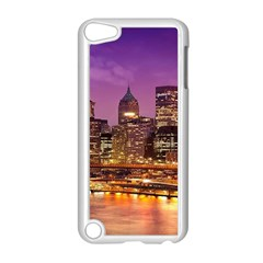 City Night Apple Ipod Touch 5 Case (white)