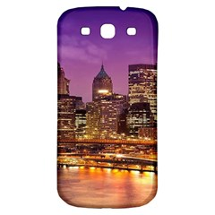 City Night Samsung Galaxy S3 S Iii Classic Hardshell Back Case by BangZart
