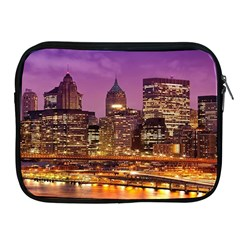 City Night Apple Ipad 2/3/4 Zipper Cases