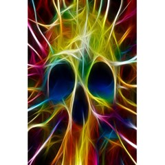 Skulls Multicolor Fractalius Colors Colorful 5 5  X 8 5  Notebooks by BangZart