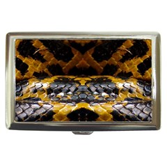 Textures Snake Skin Patterns Cigarette Money Cases by BangZart
