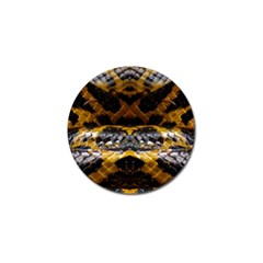 Textures Snake Skin Patterns Golf Ball Marker (10 Pack)