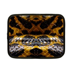 Textures Snake Skin Patterns Netbook Case (small)  by BangZart