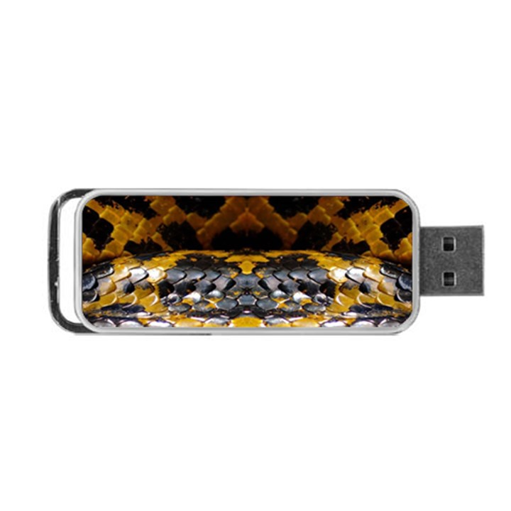 Textures Snake Skin Patterns Portable USB Flash (Two Sides)