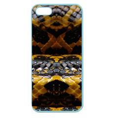 Textures Snake Skin Patterns Apple Seamless Iphone 5 Case (color)