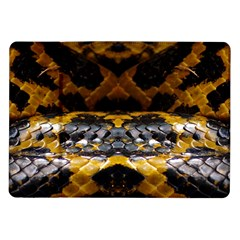 Textures Snake Skin Patterns Samsung Galaxy Tab 10 1  P7500 Flip Case