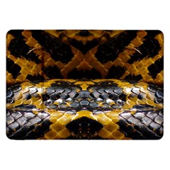 Textures Snake Skin Patterns Samsung Galaxy Tab 8 9  P7300 Flip Case by BangZart