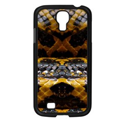 Textures Snake Skin Patterns Samsung Galaxy S4 I9500/ I9505 Case (black) by BangZart