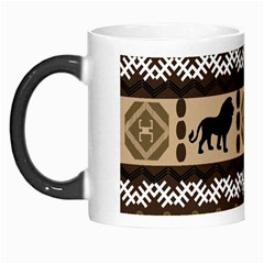 Lion African Vector Pattern Morph Mugs