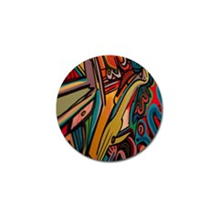 Vivid Colours Golf Ball Marker (10 Pack) by BangZart