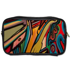 Vivid Colours Toiletries Bags 2 Side by BangZart