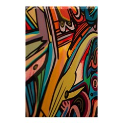 Vivid Colours Shower Curtain 48  X 72  (small)  by BangZart