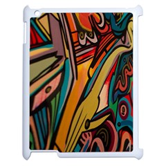 Vivid Colours Apple Ipad 2 Case (white) by BangZart