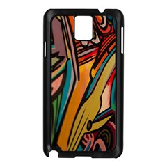 Vivid Colours Samsung Galaxy Note 3 N9005 Case (black) by BangZart