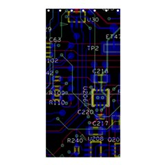 Technology Circuit Board Layout Shower Curtain 36  X 72  (stall)  by BangZart
