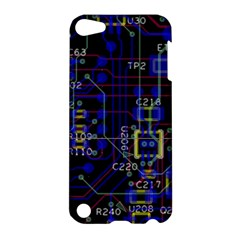 Technology Circuit Board Layout Apple Ipod Touch 5 Hardshell Case