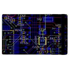 Technology Circuit Board Layout Apple Ipad 2 Flip Case