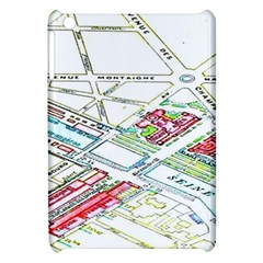 Paris Map Apple Ipad Mini Hardshell Case
