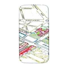 Paris Map Samsung Galaxy S4 I9500/i9505  Hardshell Back Case by BangZart