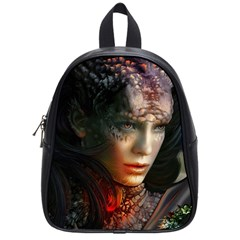 Digital Fantasy Girl Art School Bags (small)  by BangZart