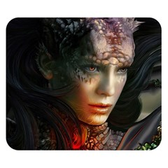 Digital Fantasy Girl Art Double Sided Flano Blanket (small)  by BangZart